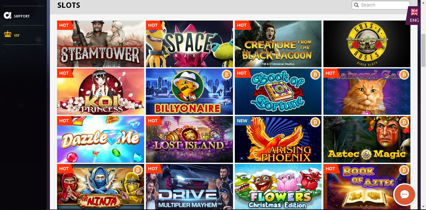 playamo casino slots