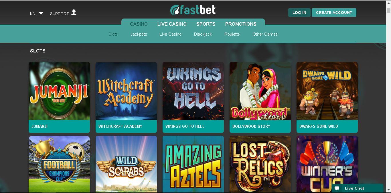 fastbet casino slots