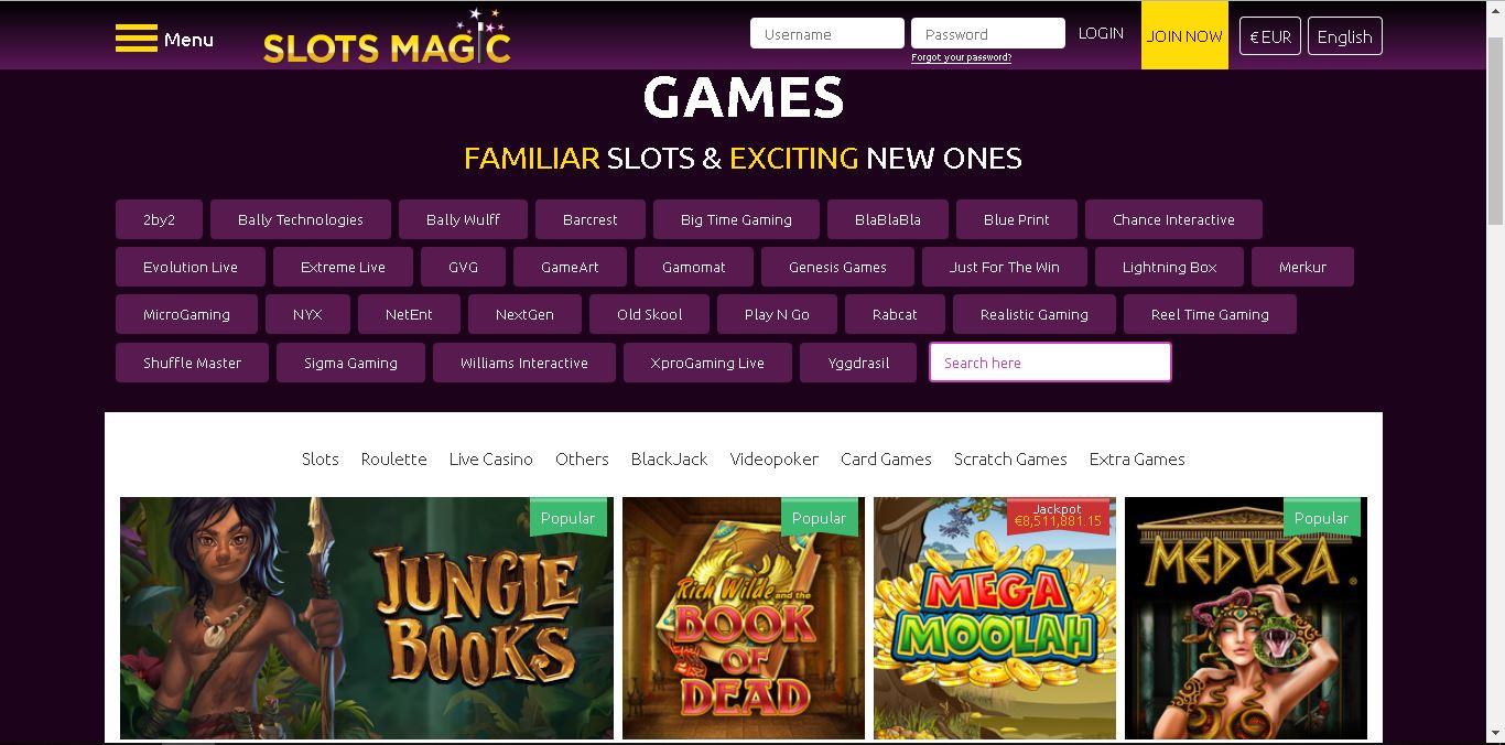 slotsmagic casino slots