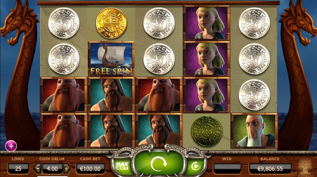 Vikings Go Wild casino game