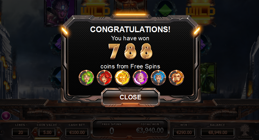 super heroes slot review