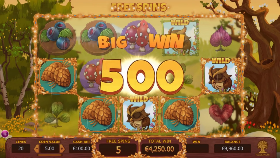seasons slot game