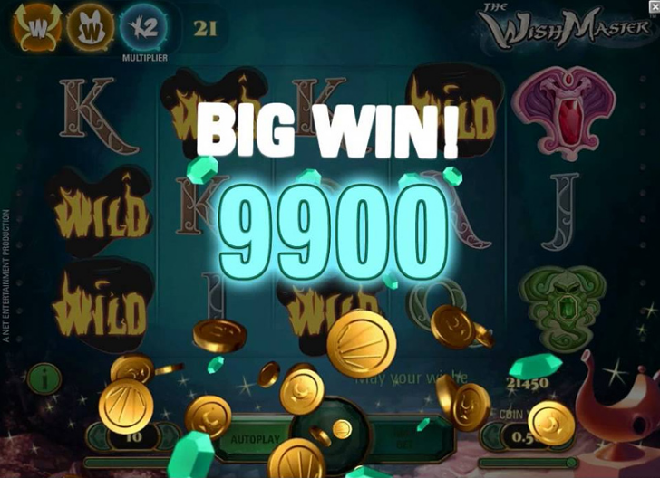 wishmaster slot review