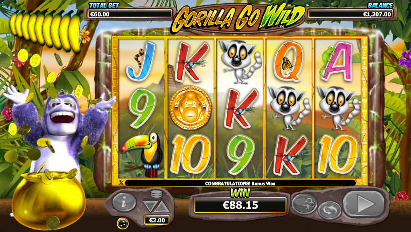 gorilla go wild slot review