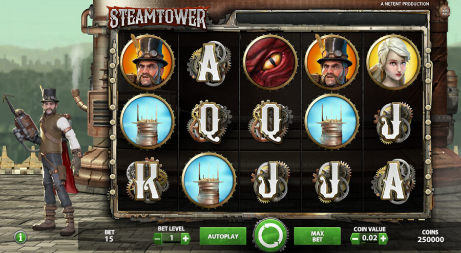 Steam Tower slot review