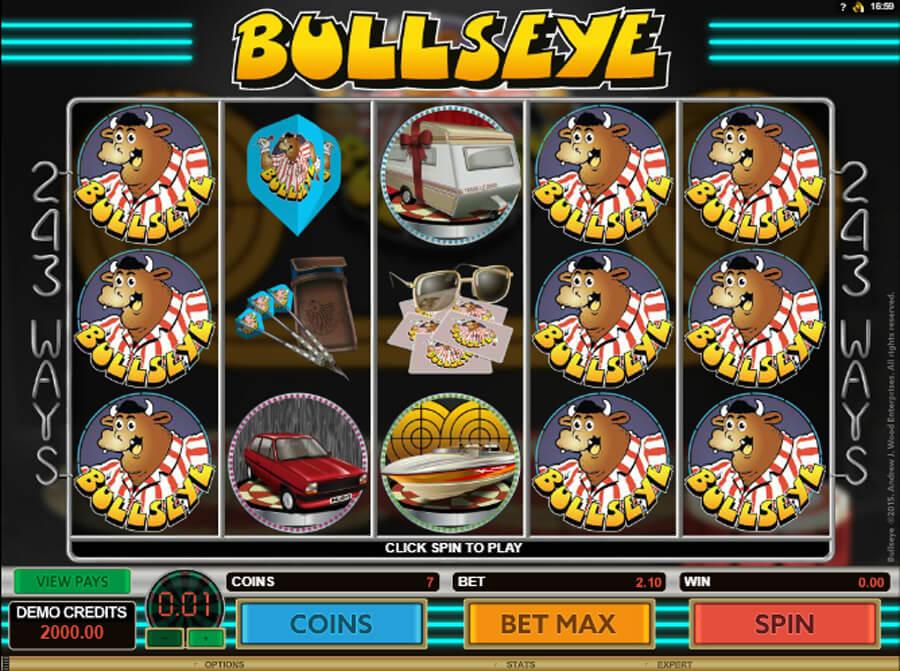 Bullseye slot review
