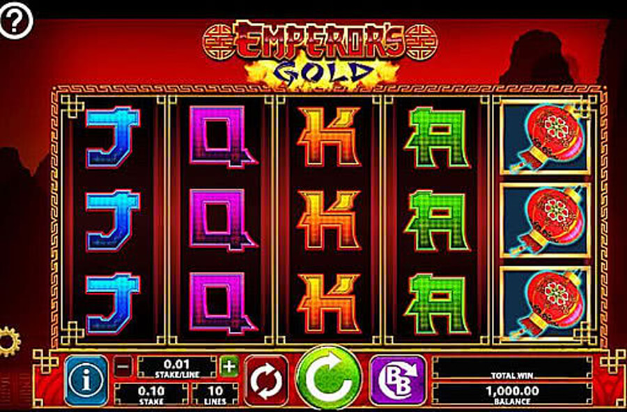 Emperors Gold slot review