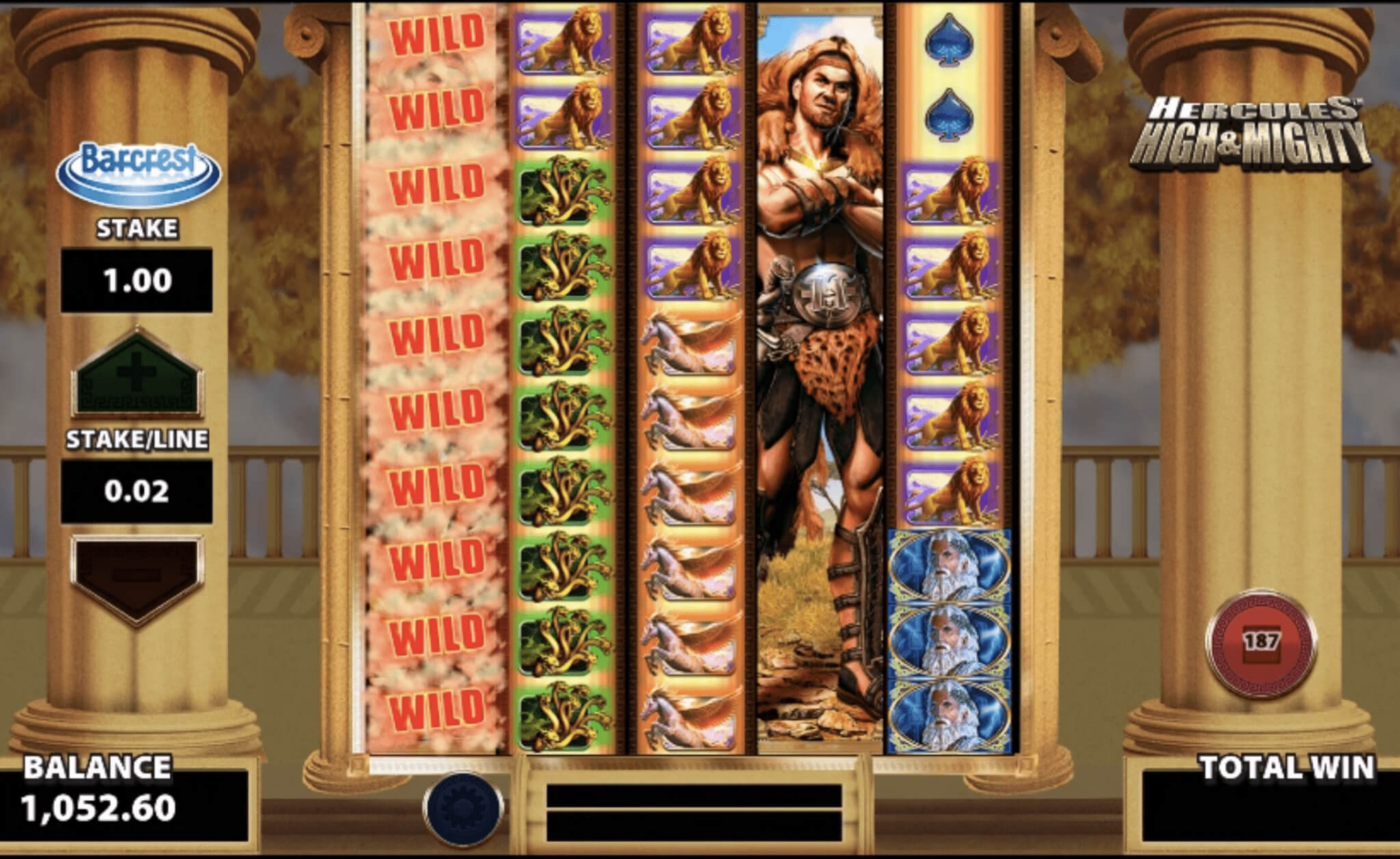Hercules High & Mighty slot review