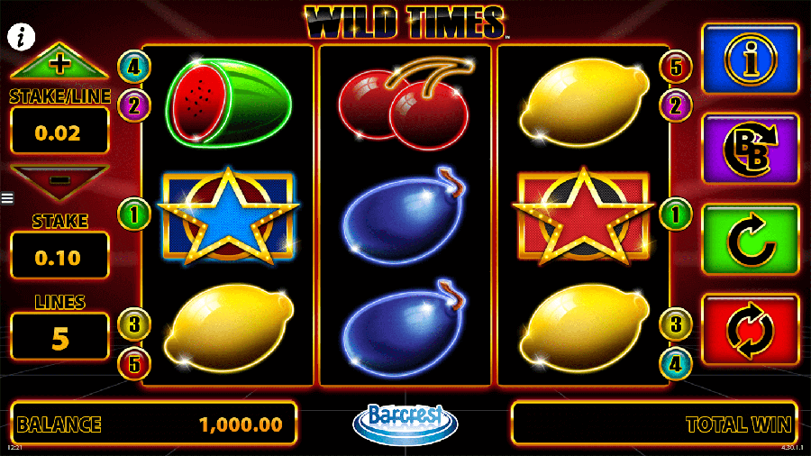 Wild Times slot review