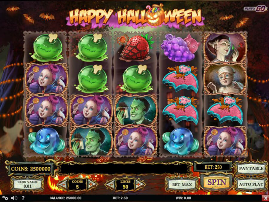 Happy Halloween slot review