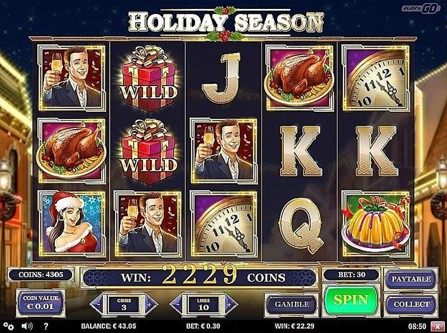 Holiday Season slot review