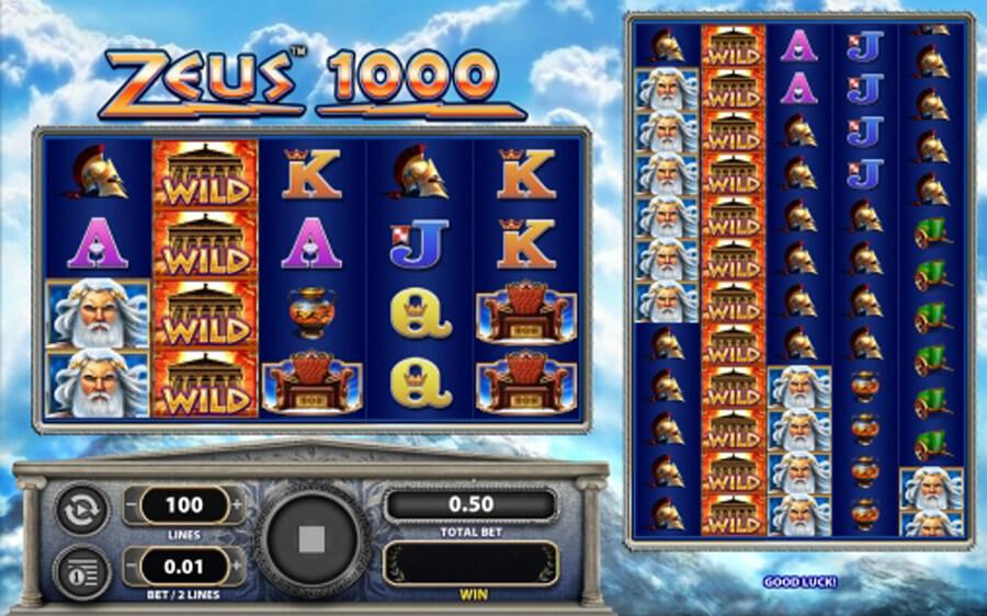 Zeus 1000 slot review