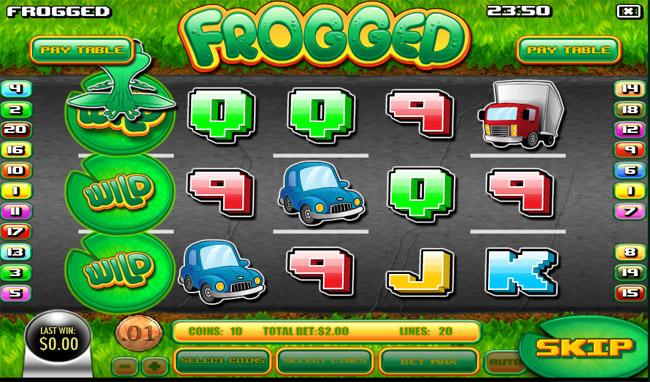 Frogged slot Rival