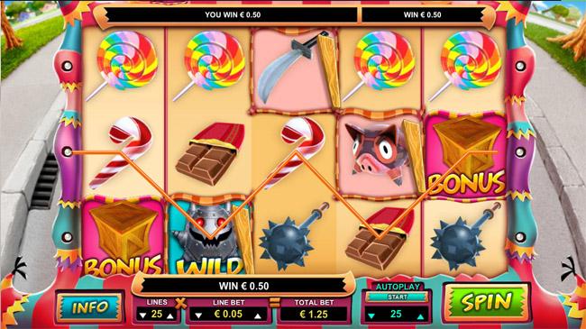 Mad Pinatas slot Leander Games