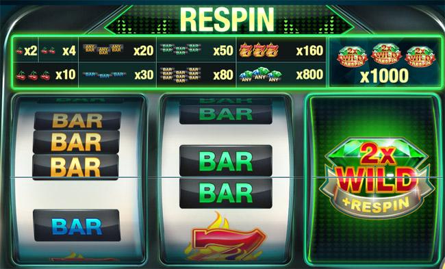Emerald Diamond slot Red Tiger Gaming
