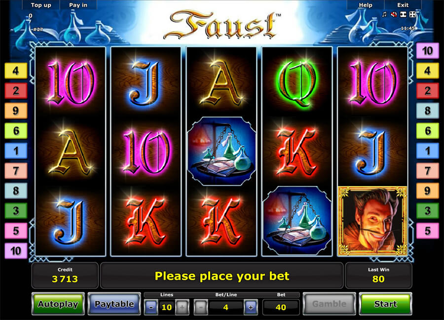 faust slot review