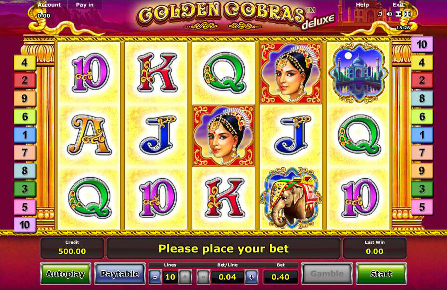 Golden Cobras slot review