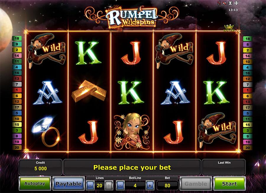 Rumpel Wildspins slot review