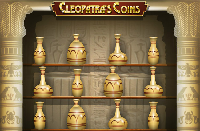 Cleopatra's Coins slot by Rival Gaming