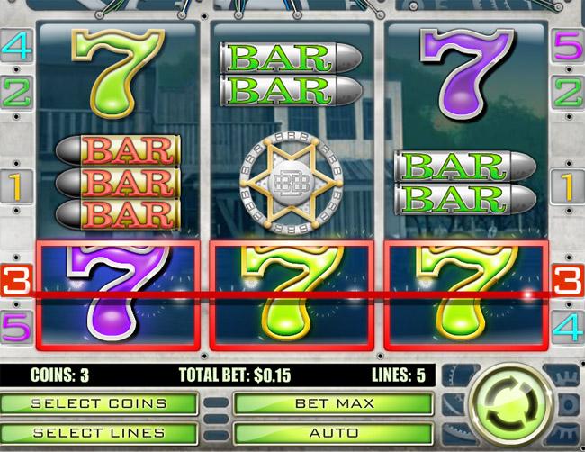 Big Bang Buckaroo slot by Rival Gaming