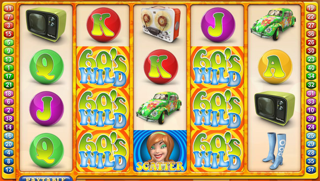 The Groovy Sixties slot by NetEnt