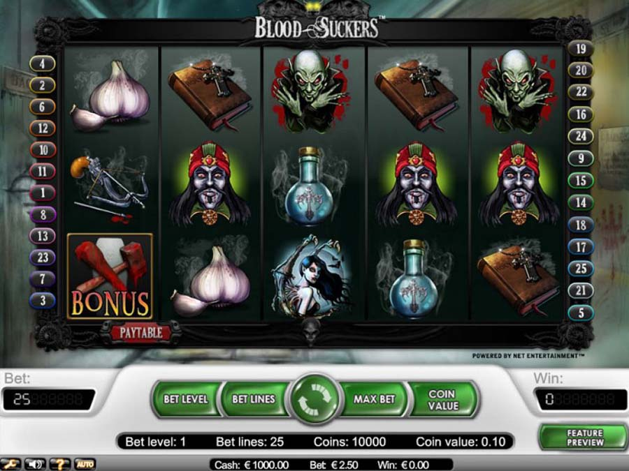 Blood Suckers slot review