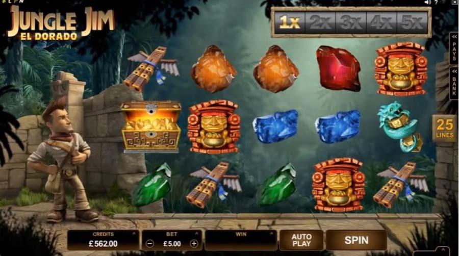 Jungle Jim El Dorado review