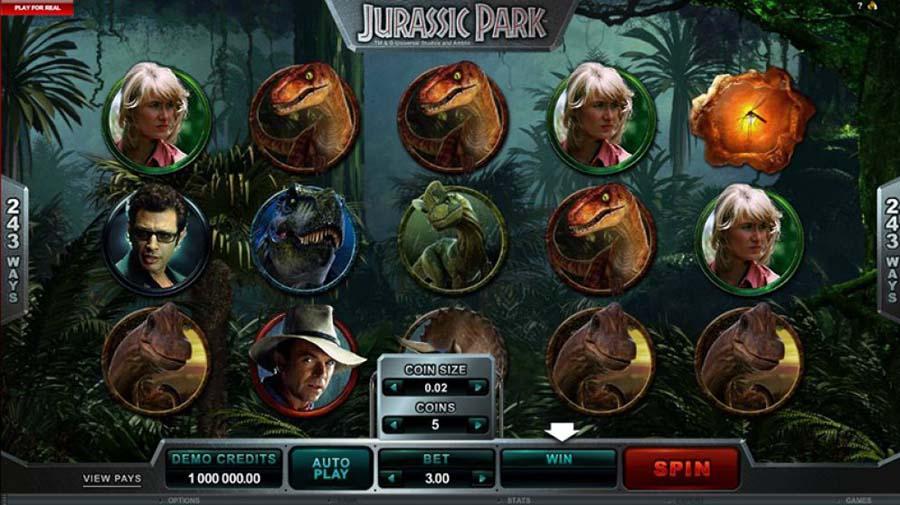 Jurassic Park slot review