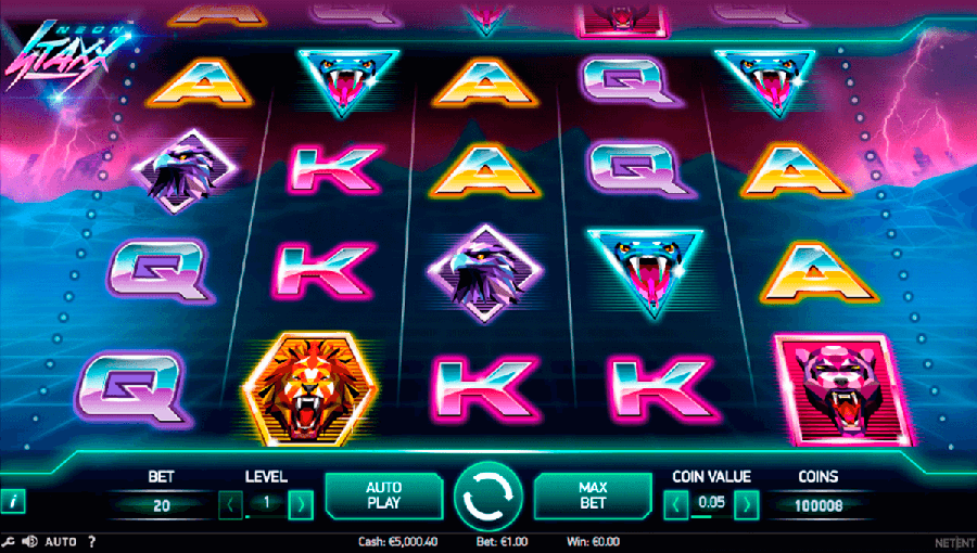 Neon Staxx slot review