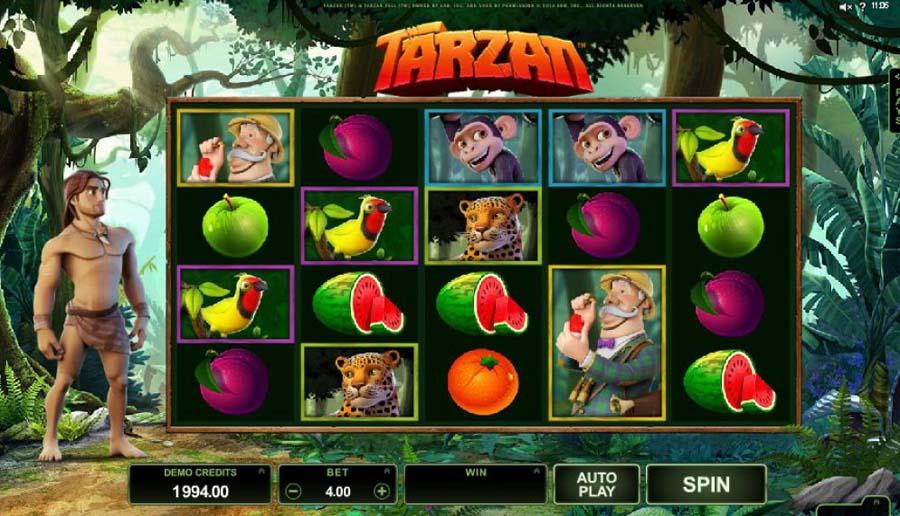 Tarzan slot review