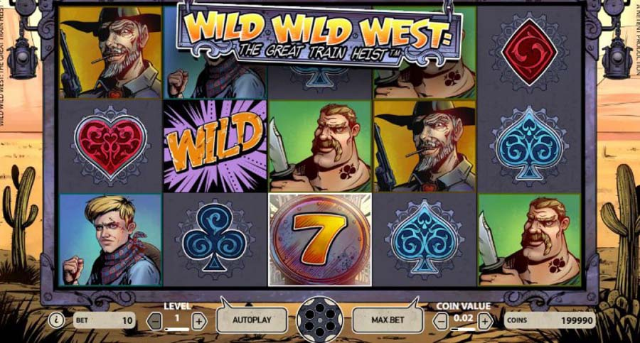 Wild Wild West slot review