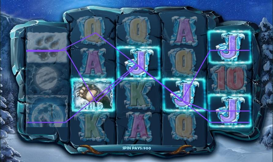 Siberian Wolf slot by Red Rake Gaming