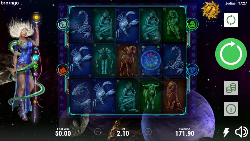 Zodiac slot by Booongo