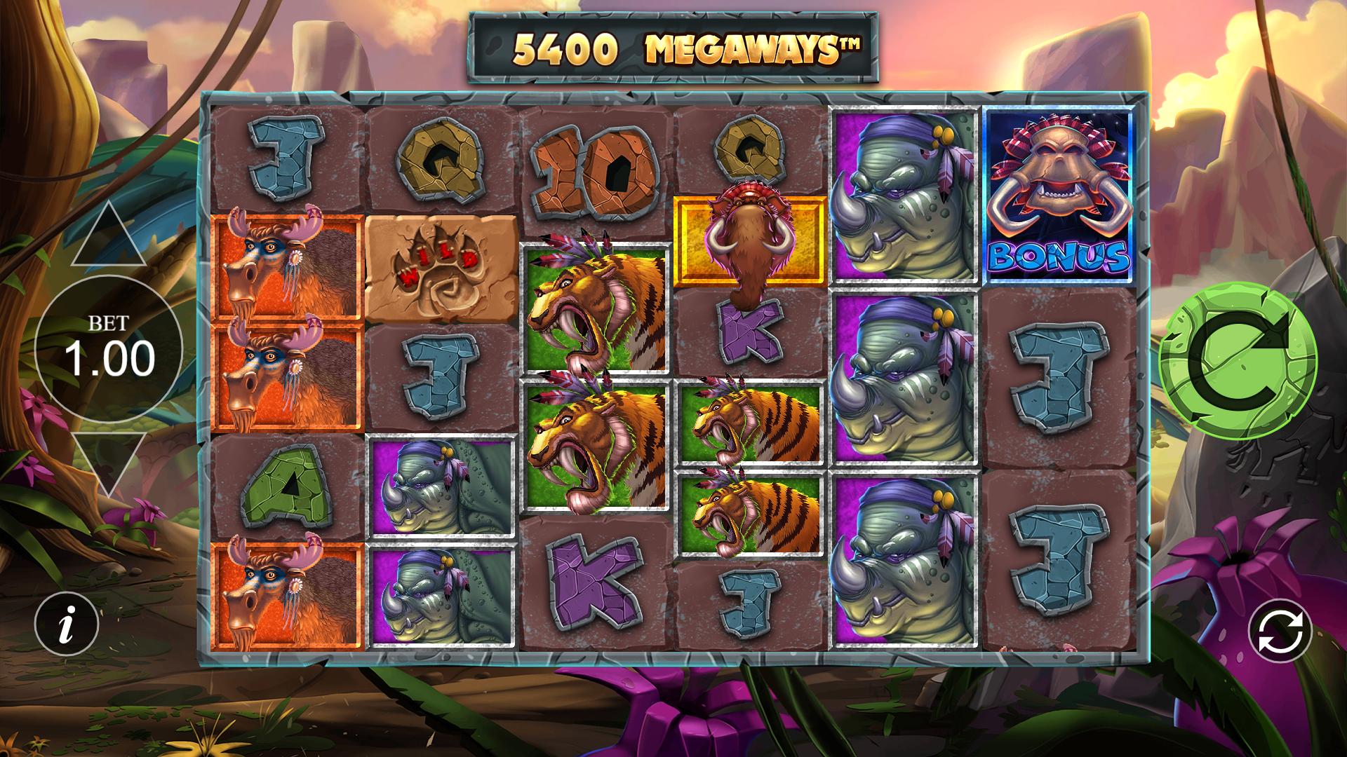primal megaways slot