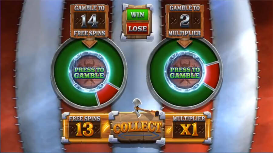 vikings unleashed gamble feature