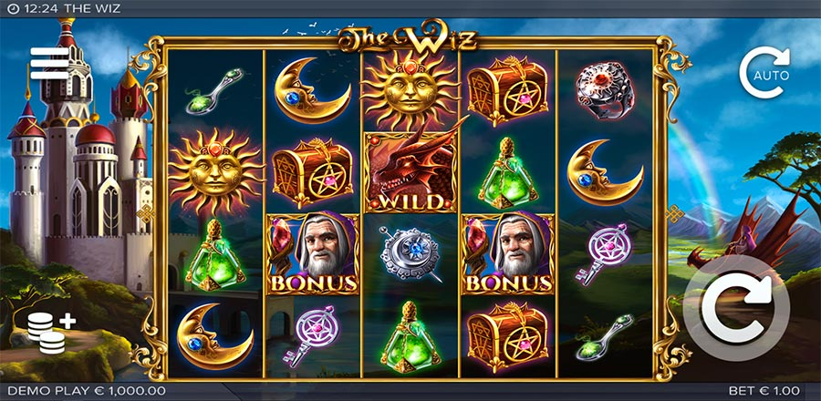 the wiz slot