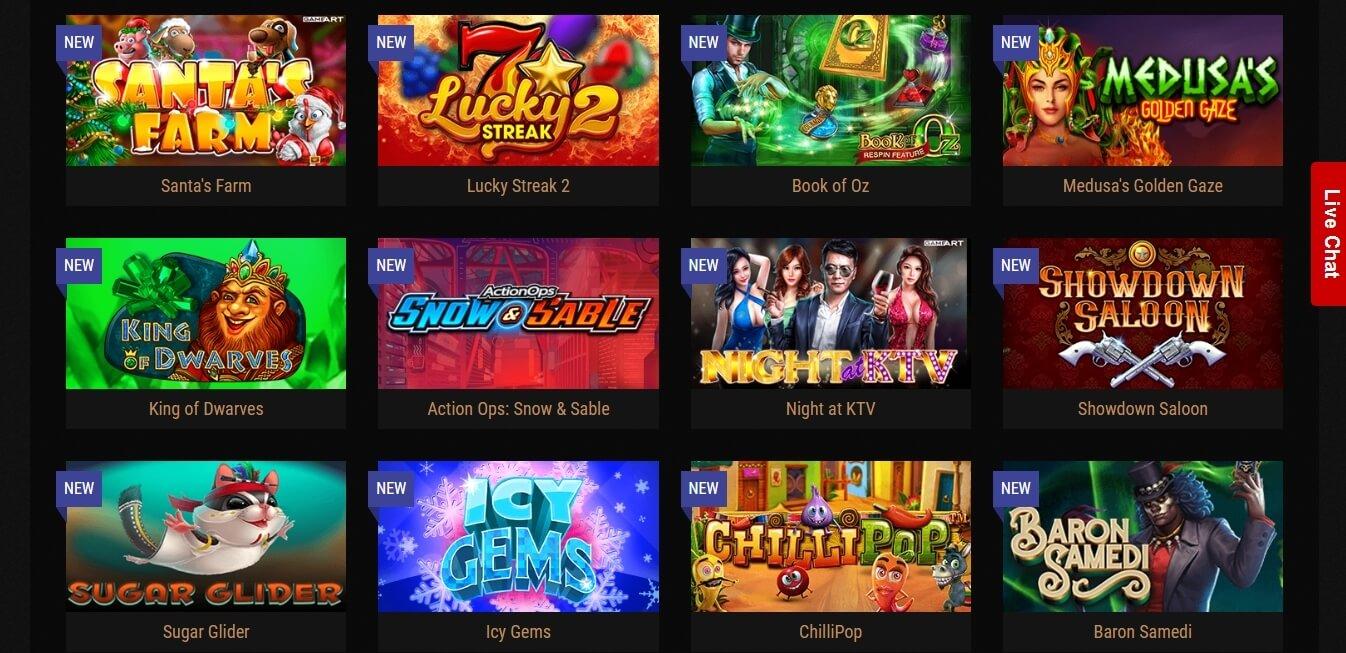 kingbilly casino slots