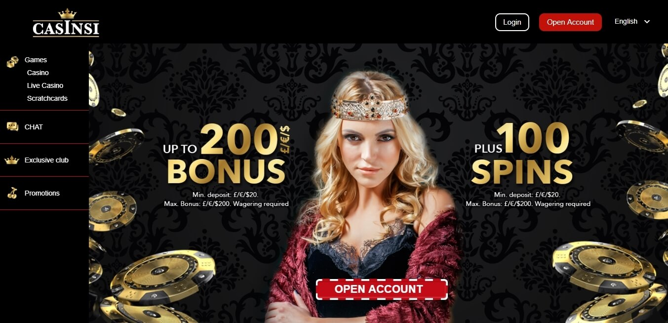 casinsi casino review