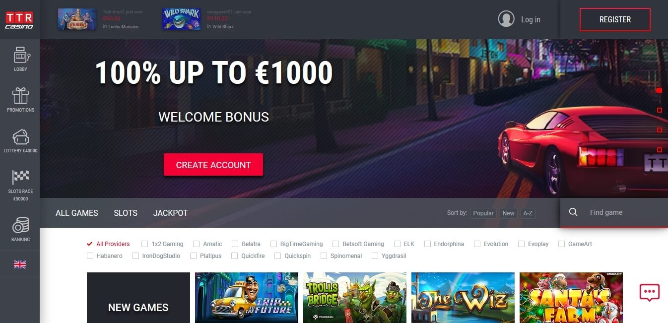 gambling sites for free
