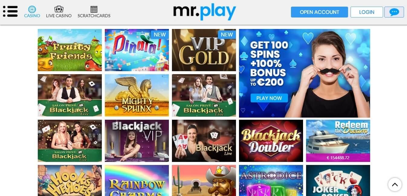 mrplay casino slots
