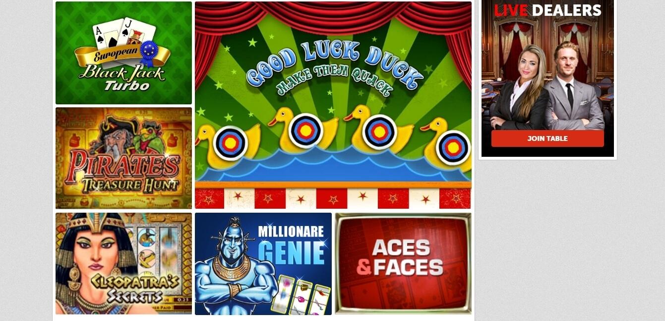 playmillion casino games