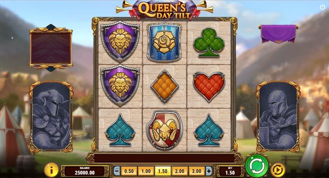 queen's day tilt slot