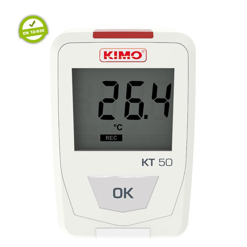 KIMO KT50 Lämpötiladataloggeri