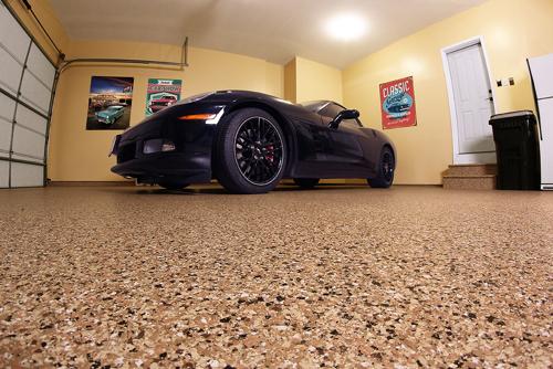 garage floor coating project 2