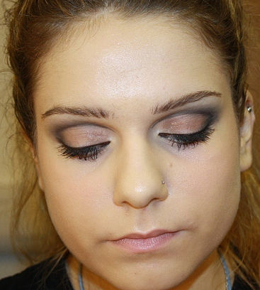Beauty make-up image from ICON Make-up Academy