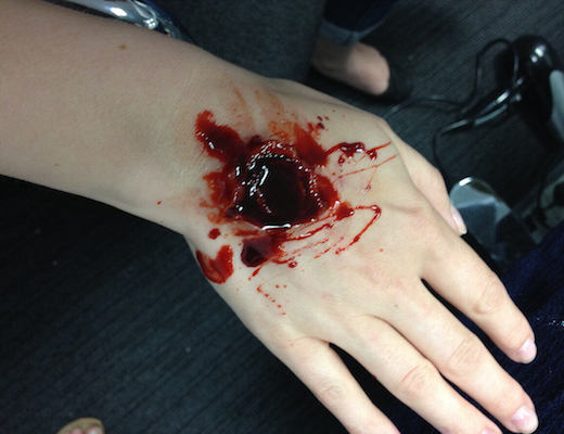 Special FX make up lesson images