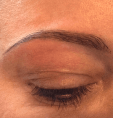 Photo of Eyebrow reshaping on the ICON Make up Courses