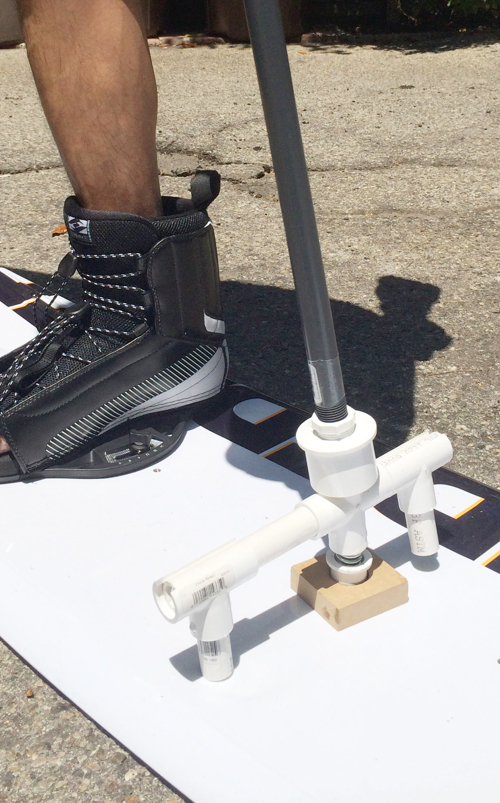 prosthetic leg mockups