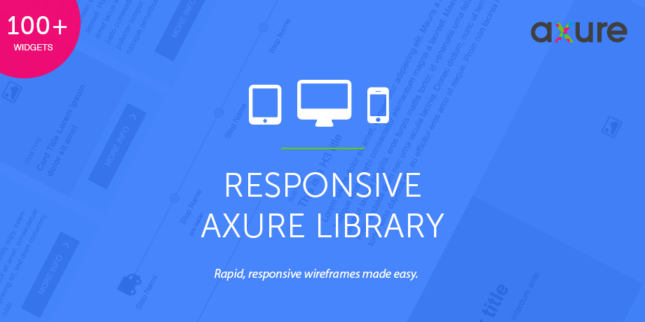 Axure Responsive Widget Library - UX/UI Land