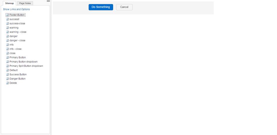 bootstrap split button